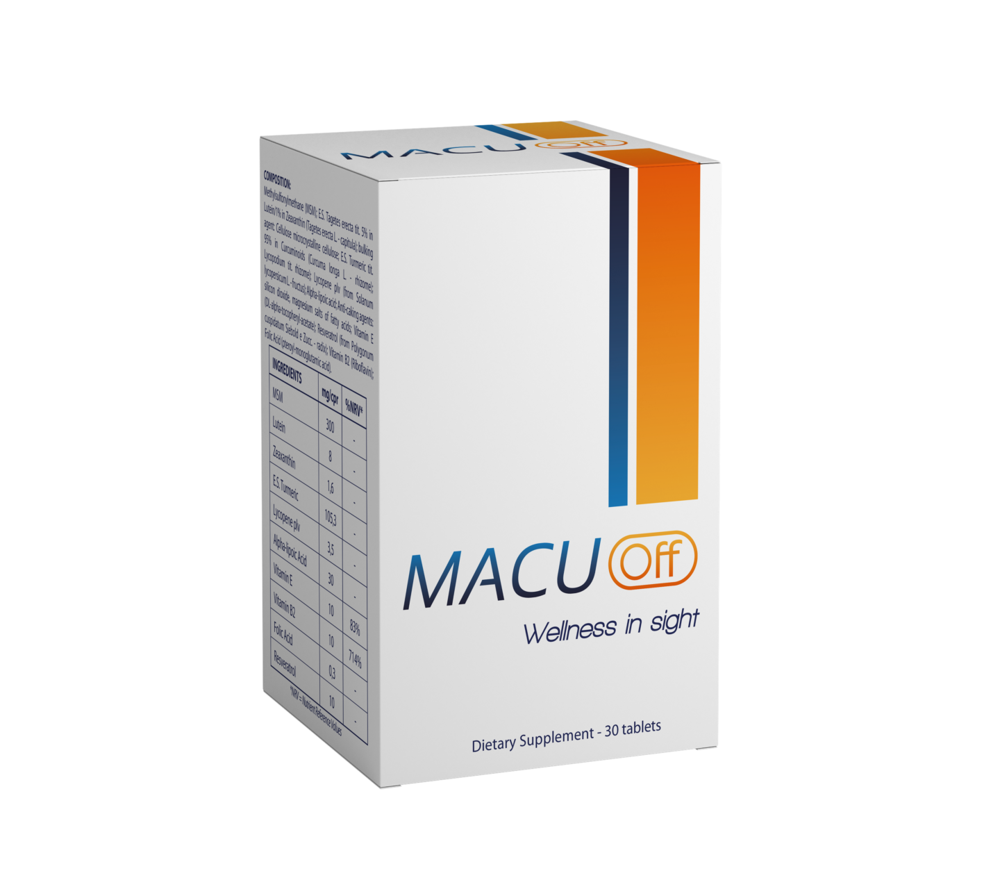 DIETARY SUPPLEMENT - MACUoff -